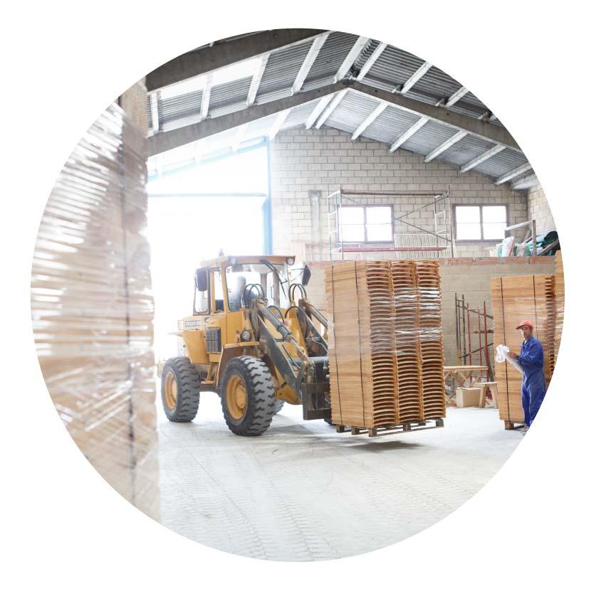 fábrica de muebles de madera ecológica