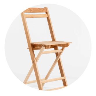 fábrica de sillas de madera