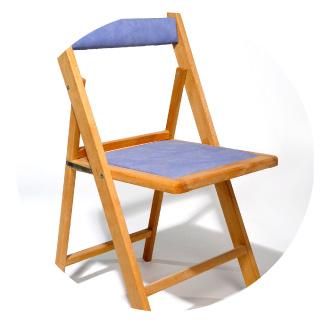 fábrica de sillas de madera tapizadas